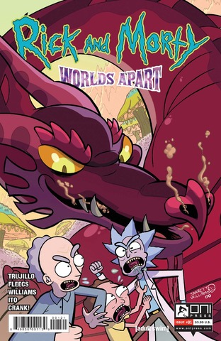 Rick and Morty Worlds Apart #1 (Cover B - Williams)