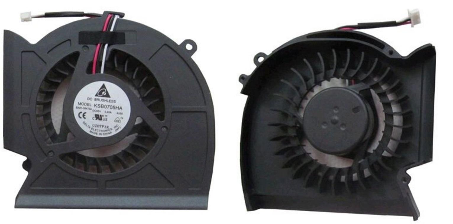Вентилятор (кулер) для ноутбука SAMSUNG P530 R523 R525 R528 R530 R538 R540 R580 RV508 P/N: BA81-08475A KSB0705HA 9J58