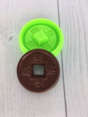 Молд «Китайская монета»
