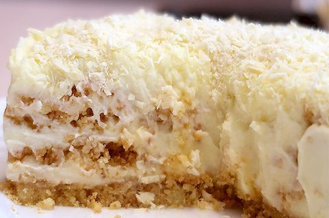 Торт «Пломбир» без глютена