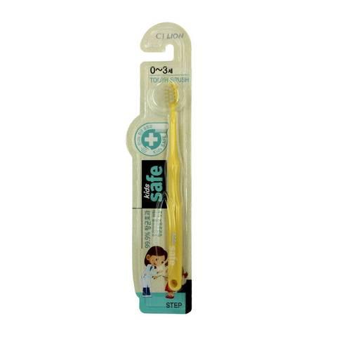 LION Детская зубная щетка с ионами серебра от 0+ Kids Safe
