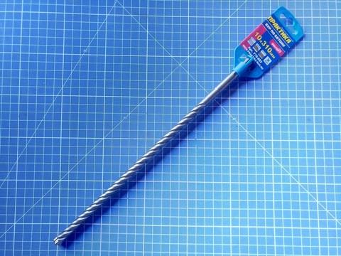 Бур SDS-plus ПРАКТИКА  10 х 250/310 мм, Х-тип серия