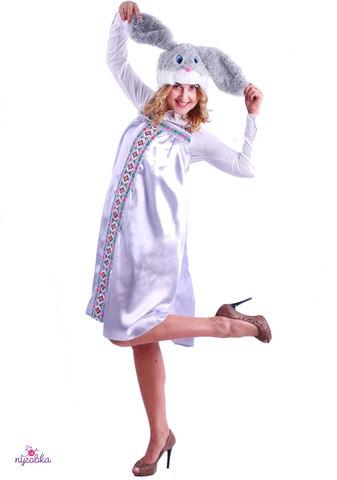 Карнавальный костюм взрослый Зайка Варвара
