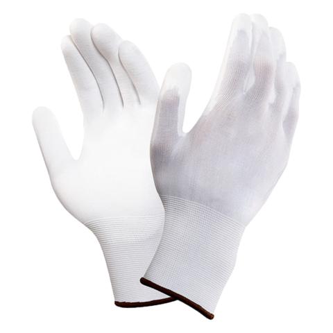 Перчатки нейлоновые с полиур. покрытием