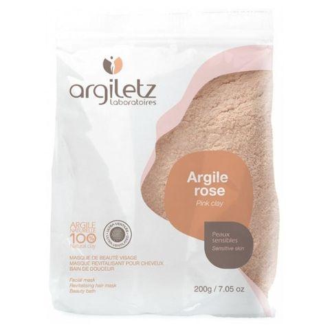 Розовая глина порошок-маска УЛЬТРА Argiletz, 200 гр