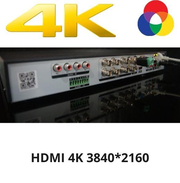 Лучшая цена 8 Мп UHD 4K видеорегистратор наблюдения описание