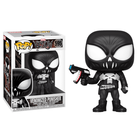 Venomized Punisher Funko Pop! || Каратель-Веном