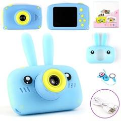 Детский фотоаппарат зайка бирюзовый
