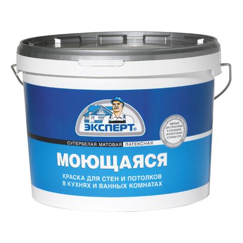 Краска ЭКСПЕРТ моющаяся с/б ( 7кг)