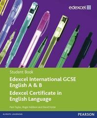 Edexcel International GCSE English A & B Student Book with ActiveBook CD