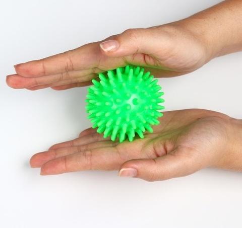 Массажный шарик Ежик , d=6,5 см