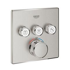 Термостат для душа встраиваемый на 3 потребителя Grohe Grohtherm SmartControl 29126DC0 фото