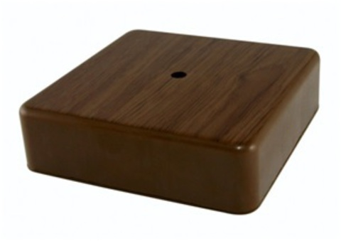 Коробка распаячная КР 75х75х28 ОП бук, с клем. колодкой, IP40, инд. штрихкод TDM