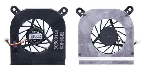 Вентилятор (кулер) для ноутбука Samsung Q45, Q45C, Q68, Q70 серий, 3pin