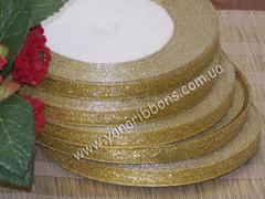 Лента парча золотая шириной 1 см