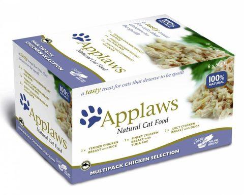 купить  Applaws Cat Chicken Selection MP набор паучей для кошек