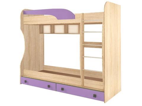 Кровать Колибри двухъярусная виола