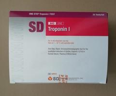 95FK10 Набор для определения кардиомаркеров: тропонина I и миоглобина (SD BIOLINE TnI/Myo Duo) 25тестов Standard Diagnostics, Inc., Корея