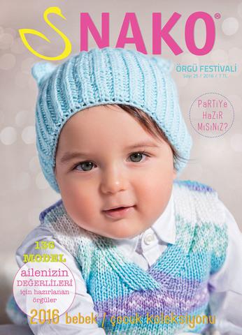 Журнал NAKO № 29 (для детей и малышей) - 136 моделей