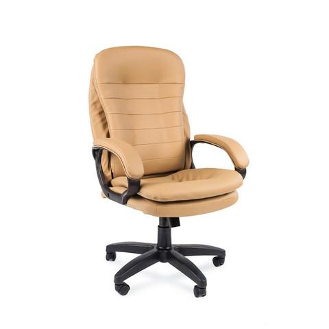 Кресло для руководителя Easy Chair 515 TPU бежевое (экокожа/пластик)