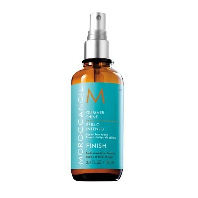 Moroccanoil Styling: Спрей для придания волосам мерцающего блеска (Gold Glimmer Shine Spray), 100мл