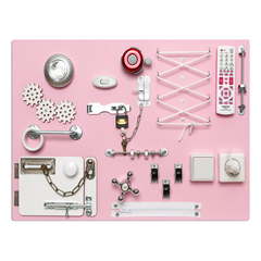 БизиДоска 60х40 см розовая