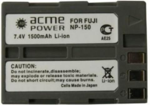 Аккумулятор Fuji NP-150 Acmepower