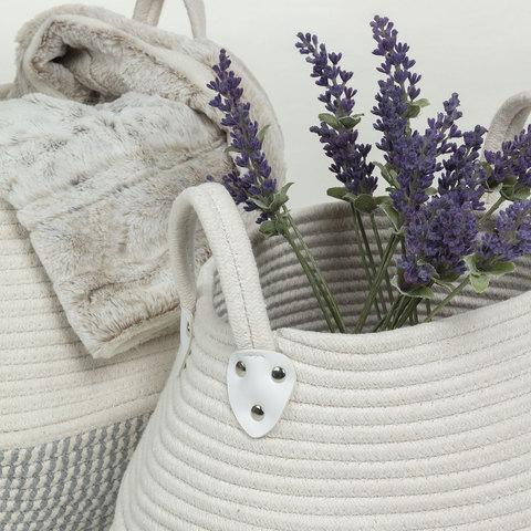 Набор Katya 2 корзины серый