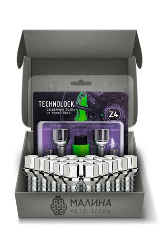 Готовый набор из колёсных болтов М14x1.5 и комплекта секреткок TECHNOLOCK Z4