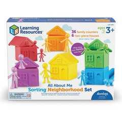 Моя семья с домиками для сортировки Learning Resources упаковка