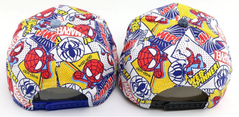 Бейсболка детская Человек паук и Микки Маус