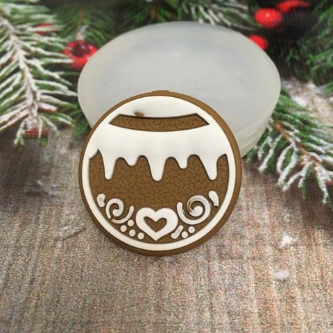 Молд « Новогоднее печенье Шарик»