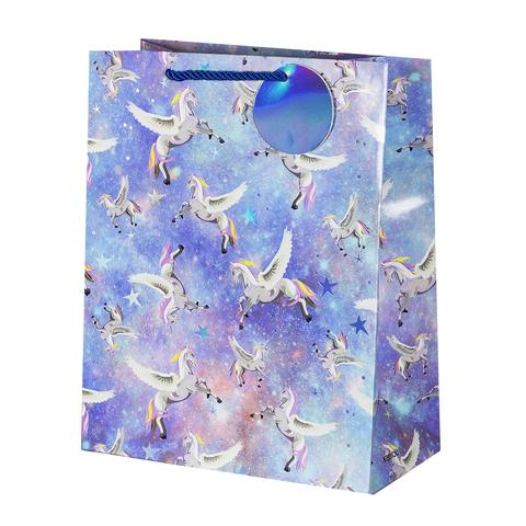 Пакет подарочный Unicorn 26*32*12.5 3