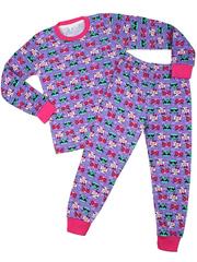 DL3-40P-3 пижама детская, цветная