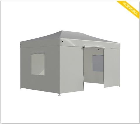 Тент-шатер быстросборный Helex 3x4,5х3м полиэстер белый