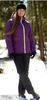 Женский утеплённый прогулочный лыжный костюм Nordski Motion Purple/Black