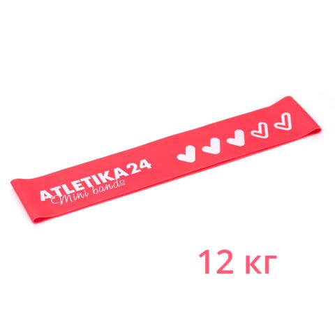 Розовая петля Mini Bands (12 кг) 25*5 см