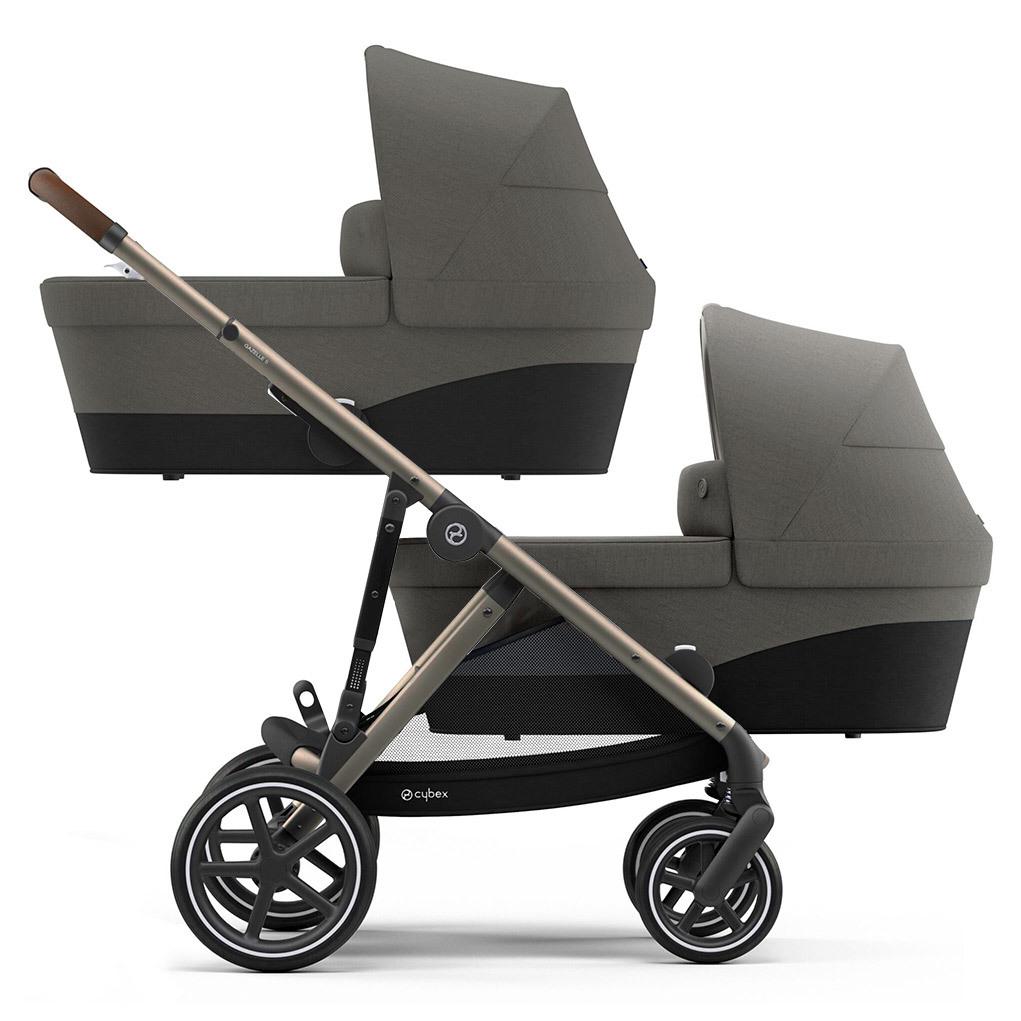 Cybex Gazelle S прогулочная Детская коляска для двойни Cybex Gazelle S 2 в 1 TPE Soho Grey Gazelle-S-nbrn-twinsTPE-soho-grey.jpg