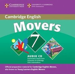 C Young Learners Eng Tests 7 Movers Audio CD !!
