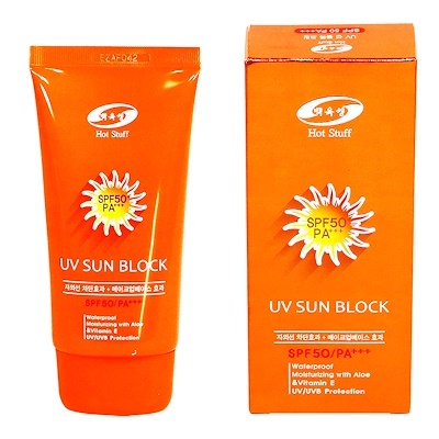 Солнцезащитный крем Hot Stuff UV-Perfect-Sunblock SPF50+PA++ (70 мл)