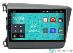 Штатная магнитола для Honda Civic 12-16 на Android 6.0 Parafar PF132Lite