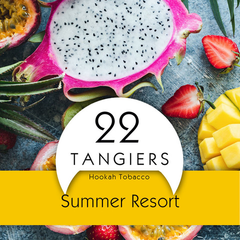 Табак Tangiers 100 г Noir Summer Resort