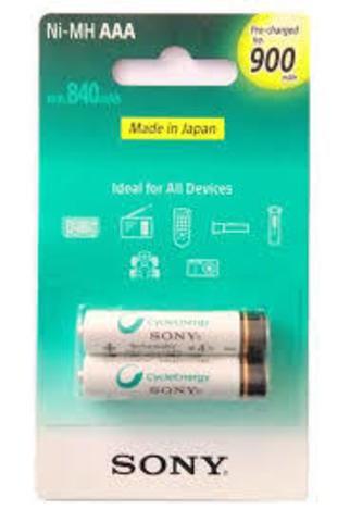 NH-AAA-B2GN аккумулятор Sony, 900 mAh