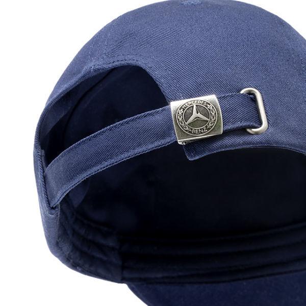Бейсболка Mercedes-Benz Men's Cap Navy Blue