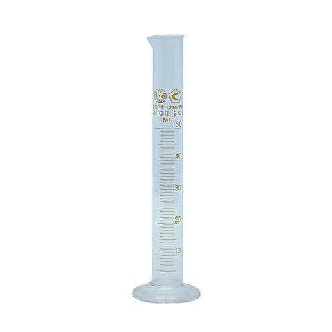 Цилиндр мерный стеклянный, 50 мл