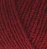 Пряжа Alize LANAGOLD 538  (Тёмно-красный)