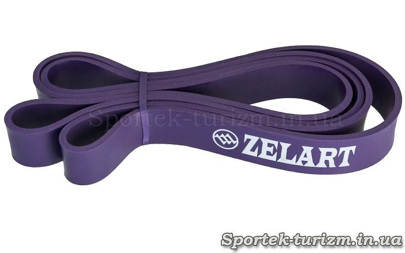 Резина для подтягиваний (силовая лента) Zelard фиолетовая, размером 2000x32x4,5 мм, сопротивление 15-45 кг