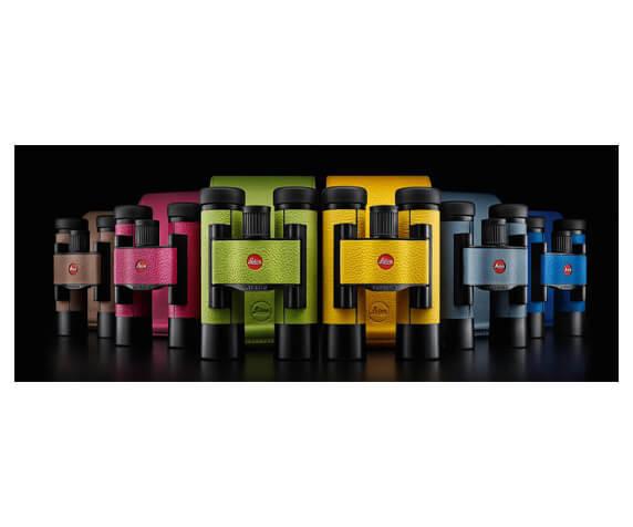Бинокль Leica Ultravid Colorline 10x25 Cherry Pink - фото 3