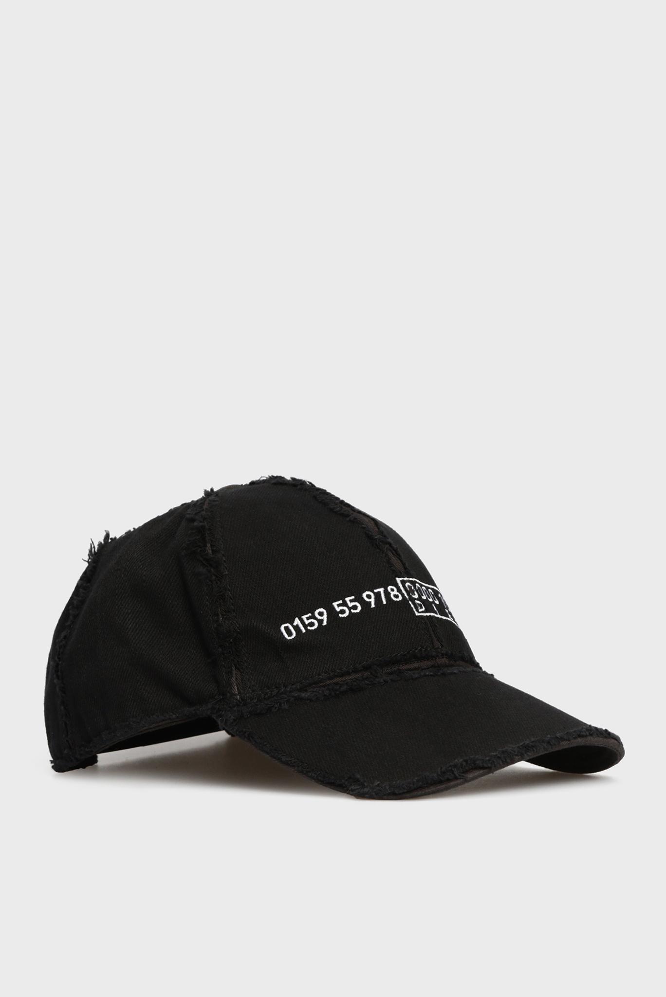 Женская черная кепка CIREVERSE Diesel