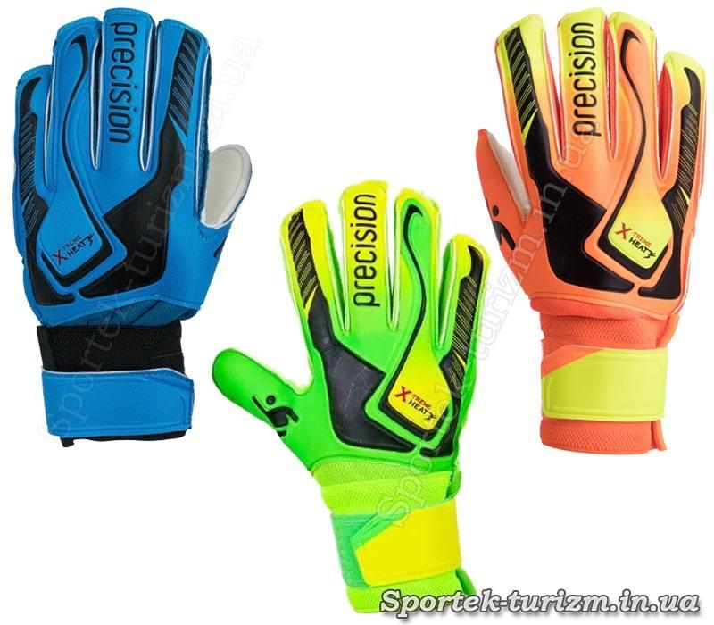 Варианты расцветок вратарских перчаток Precision